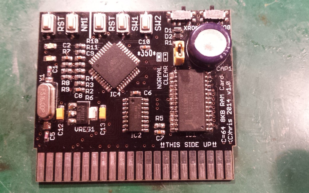 C64/SX64 RAM Cartridge (SD2IEC part)