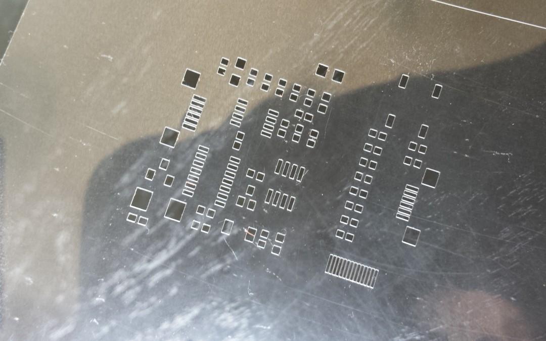 DIY solderstencils