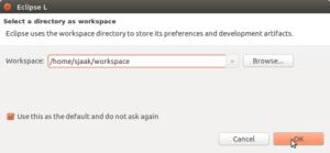 workspacedir