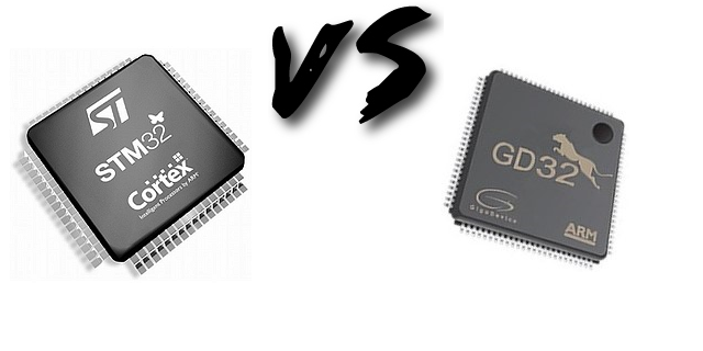 STM32F103 vs GD32F103