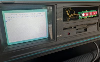 Restoring a Commodore SX64