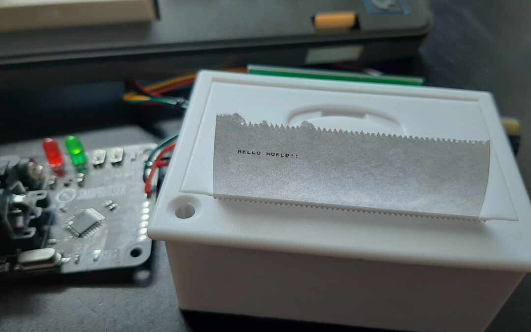 Connect a Commodore with thermal printer