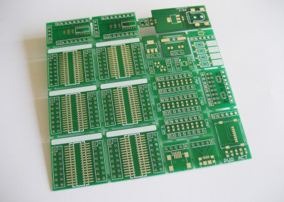 Breakable SMD prototype board