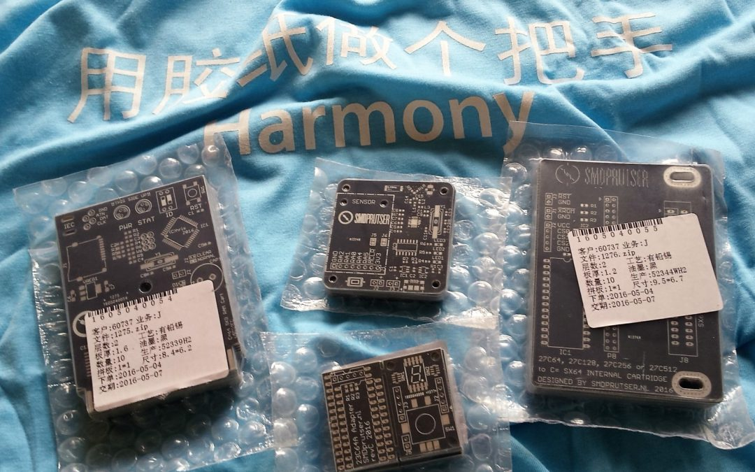 New PCBs arrived today
