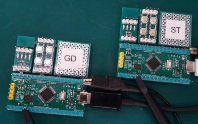 STM32F103 vs GD32F103 Round 2: Blink a LED